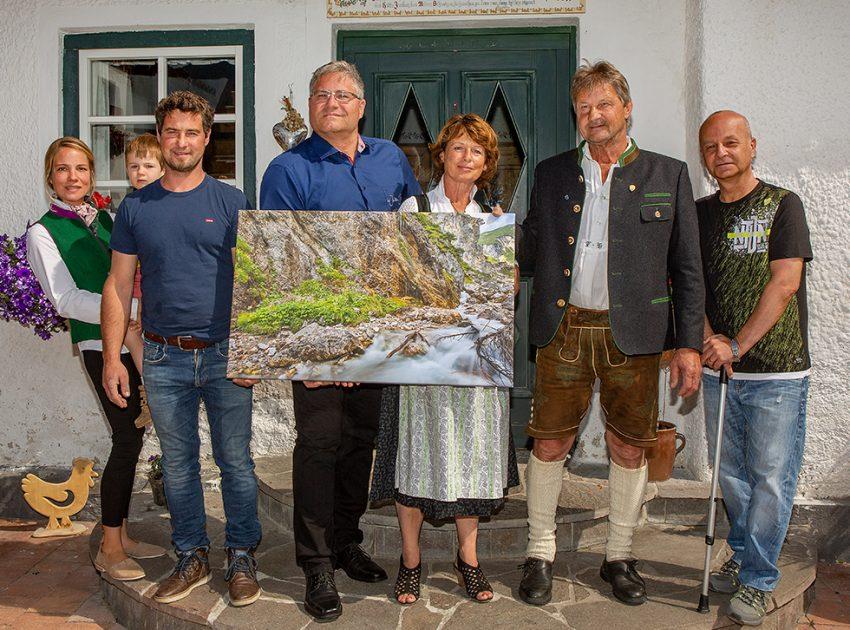 Michaela Ebner, Florian Huber jr., Walter Filler, Marianne Huber, Florian Huber sen., Gerald Vaclav-kl